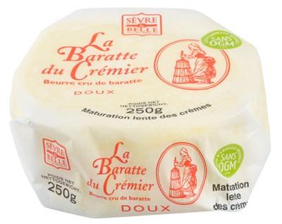 Baratte du crémier 250g - beurre Doux - Sèvre & Belle