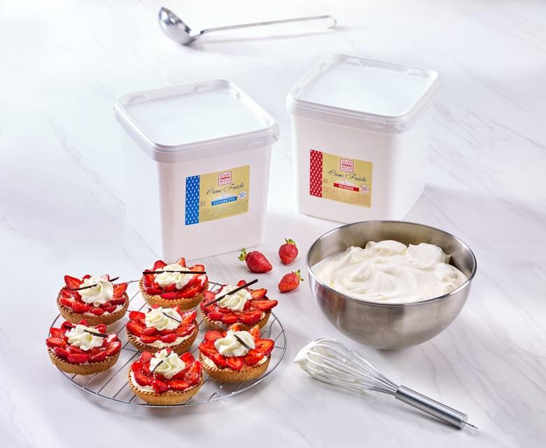 Crème épaisse - Crème fleurette - Haut de gamme - Qualité supérieure - Sèvre & Belle