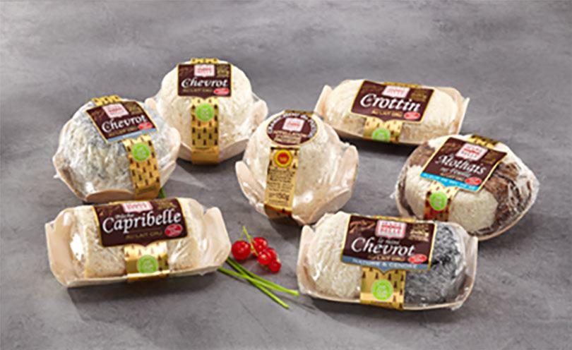 Fromages de chèvre au lait cru moulés à la louche - gamme frais emballés - Sèvre & Belle