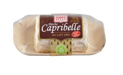 La bûche Capribelle 150g - fromage de chèvre au lait cru moulé à la louche - gamme frais emballé - Sèvre & Belle