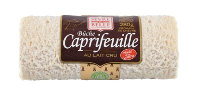 La bûche Caprifeuille 280g - fromage de chèvre au lait cru moulé à la louche - gamme coupe - Sèvre & Belle