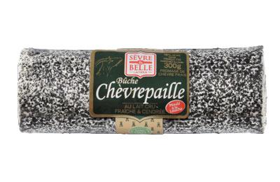 La bûche Chèvrepaille 280g - fromage de chèvre au lait cru moulé à la louche - gamme coupe - Sèvre & Belle
