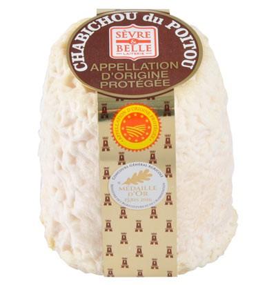 Le Chabichou du Poitou AOP 150g - fromage de chèvre au lait cru moulé à la louche - gamme coupe - Sèvre & Belle