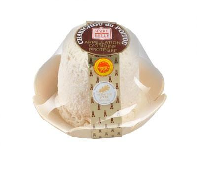 Le Chabichou du Poitou AOP 150g - fromage de chèvre au lait cru moulé à la louche - gamme frais emballé - Sèvre & Belle