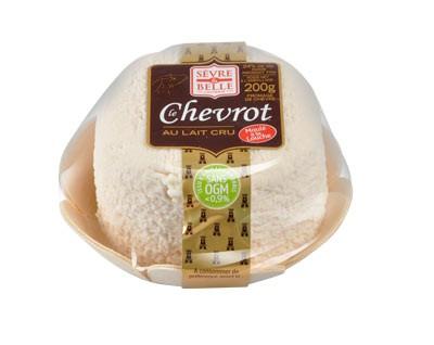 Le Chevrot nature 200g - fromage de chèvre au lait cru moulé à la louche - gamme frais emballé - Sèvre & Belle