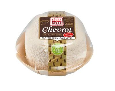 Le Chevrot sans sel ajouté 200g - fromage de chèvre au lait cru moulé à la louche - gamme frais emballé - Sèvre & Belle