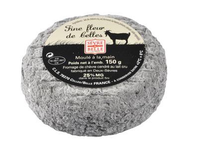 Le Fine fleur de Celles 150g - fromage de chèvre au lait cru moulé à la louche - gamme coupe - Sèvre & Belle