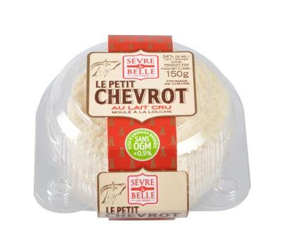 Le petit Chevrot 150g - fromage de chèvre - lait cru à la moulé louche - gamme libre service - Sèvre & Belle