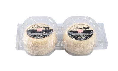 Les crottins x2 - fromage de chèvre - lait cru à la moulé louche - gamme libre service - Sèvre & Belle