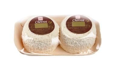 Les mini Chevrot x2 - fromage de chèvre au lait cru moulé à la louche - gamme frais emballé - Sèvre & Belle