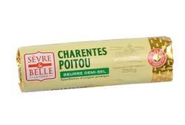Rouleau 250g - Beurre Demi-sel - Baratte - Sèvre & Belle