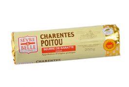 Rouleau 250g - Beurre Doux - Baratte - Sèvre & Belle