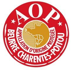 logo Appellation d'Origine contrôlée - beurre Charentes Poitou