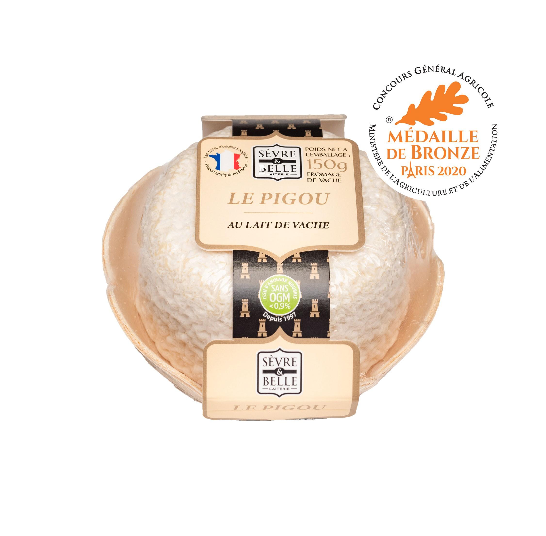 Le Pigou fromage de vache médaille de bronze Paris 2020