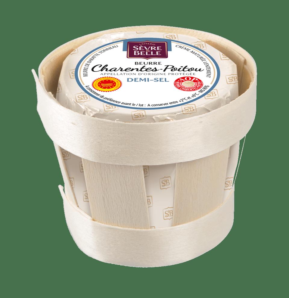 Beurre AOP Charente Poitoux demi-sel Sèvre&Belle