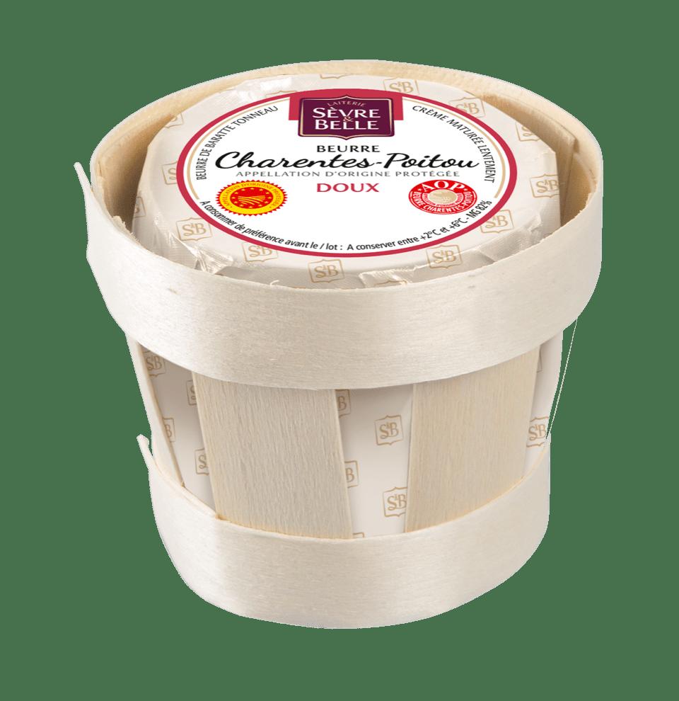 Beurre doux AOP Charente Poitoux Sèvre&Belle
