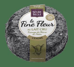 Fromage de chèvre cendré le fine fleur