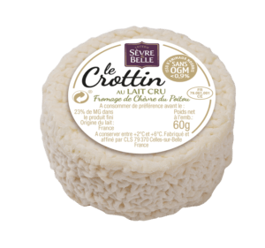Fromage d chèvre du Poitou le Crottin sans OGM