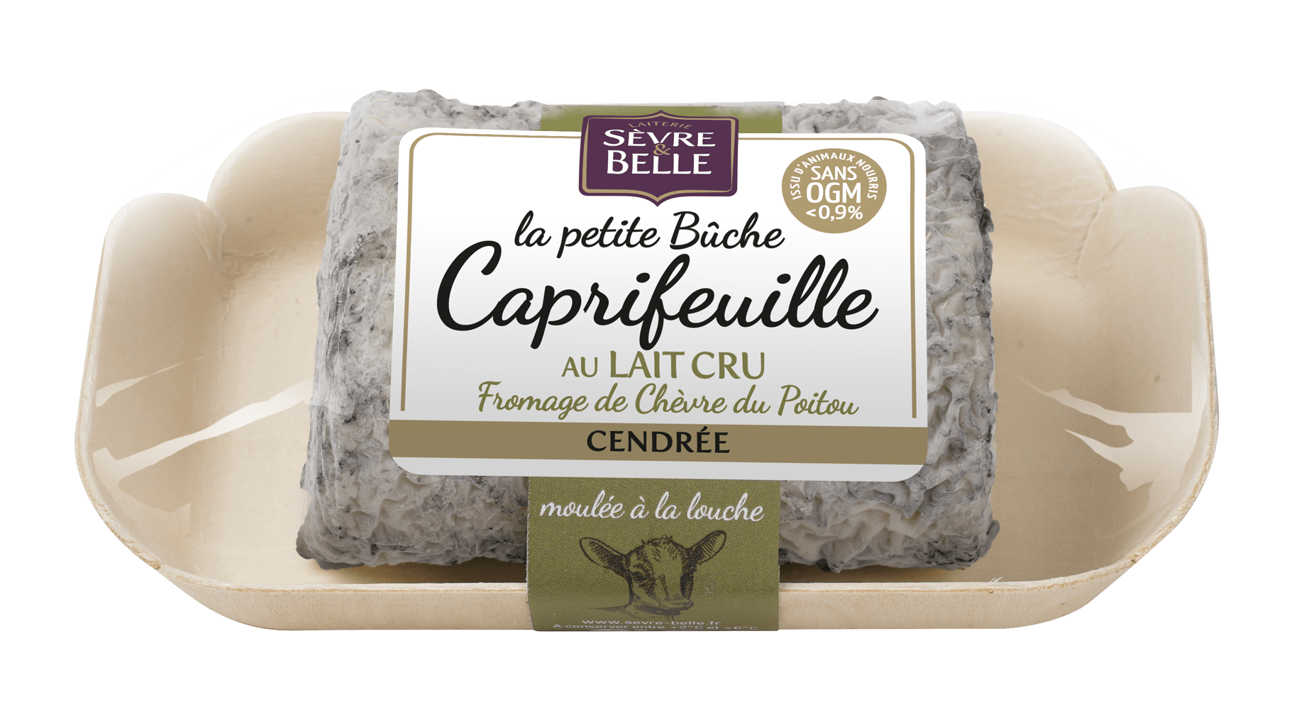Fromage de chèvre au lait cru du Poitou Caprifeuille cendrée