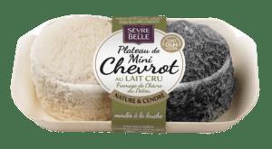 Plateau de mini Chevrot, fromage de chèvre au lait cru