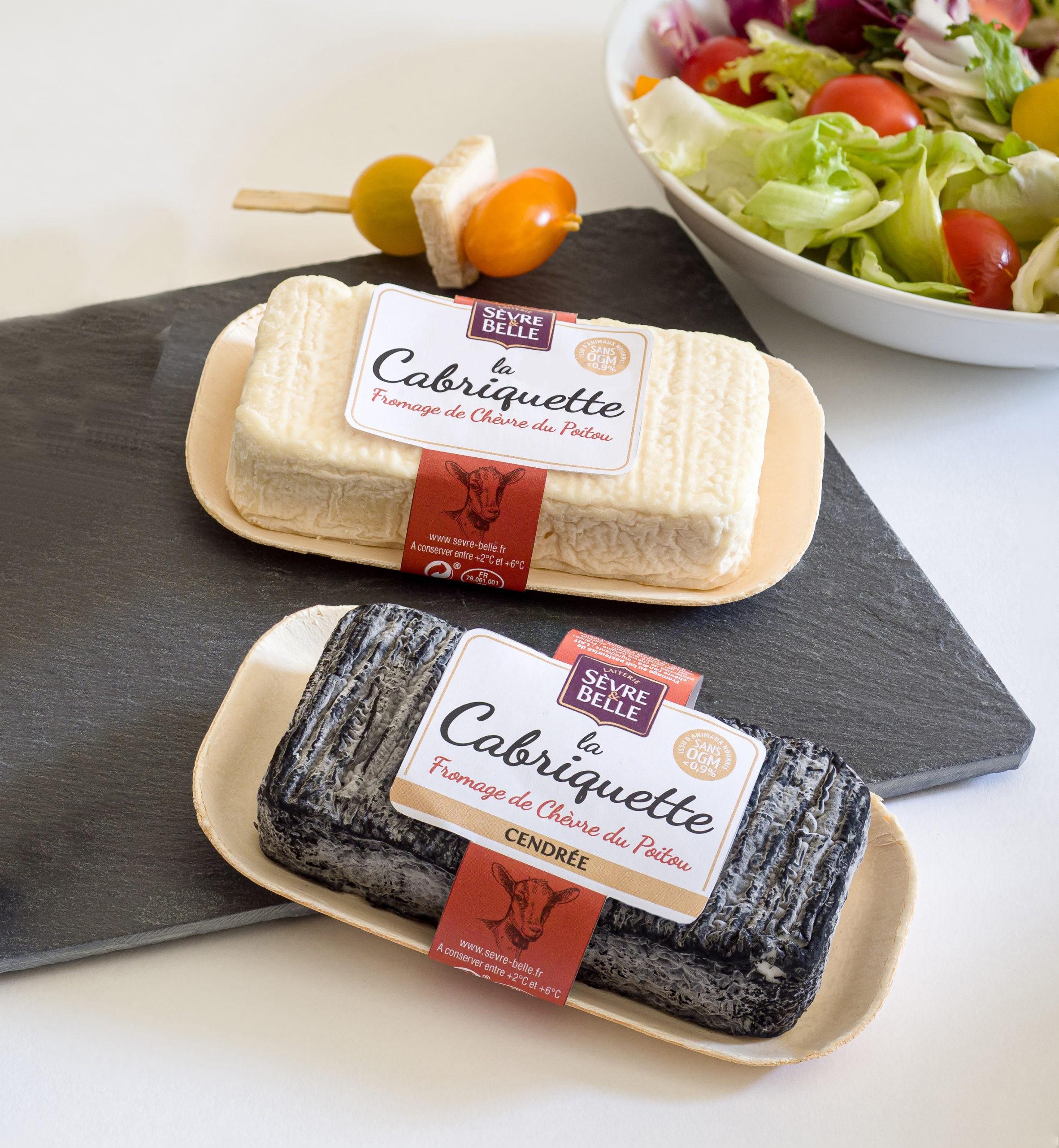 Fromages La Cabriquette au lait pasteurisé